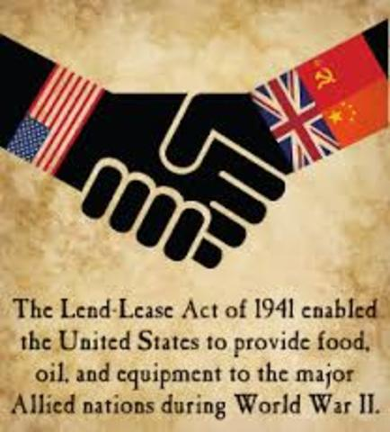 WWII Europe - Lend-Lease