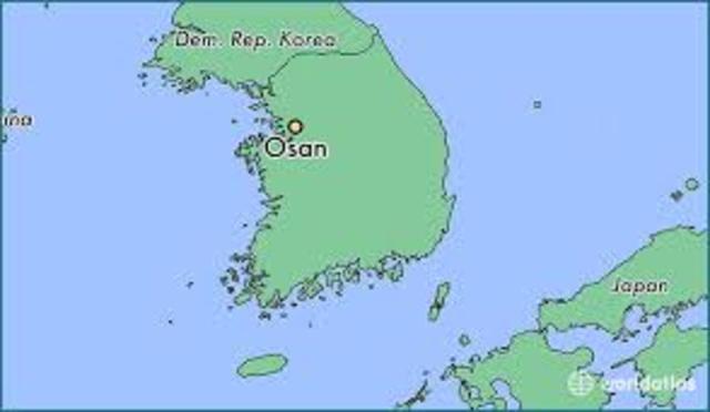 Korea - Defeat at Osan