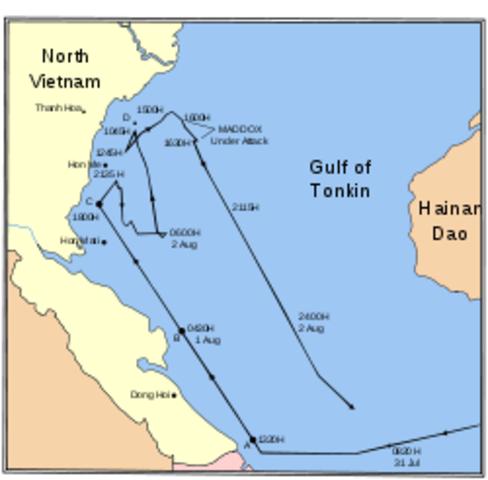 Vietnam - Gulf of Tonkin