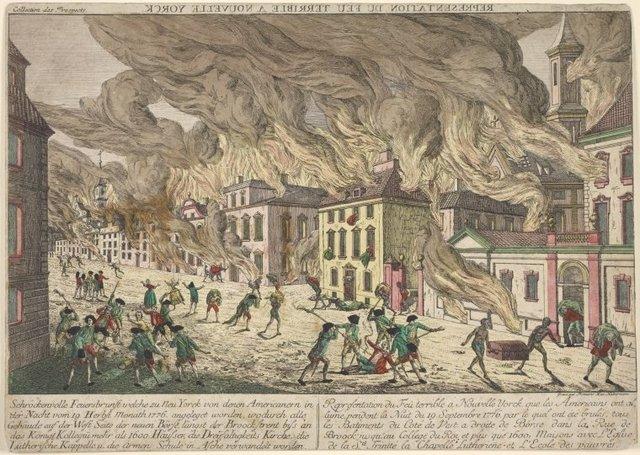 El Gran incendio de Nueva York