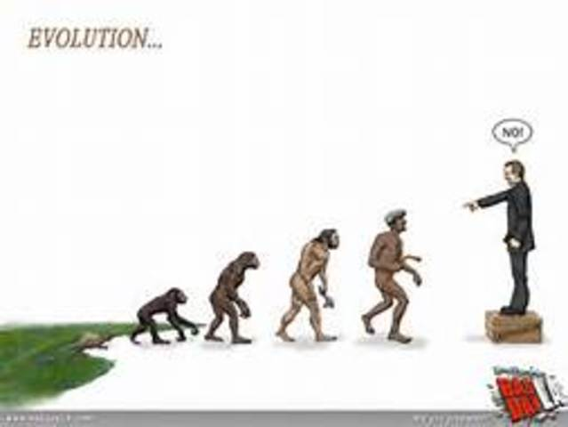 Tennessee passes a law against the teaching of evolution in public schools