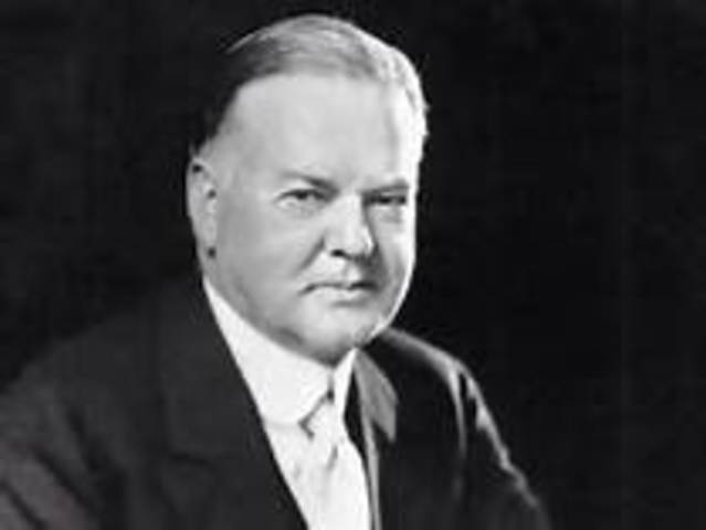 Herbert Hoover is inaugurated as the 31st president