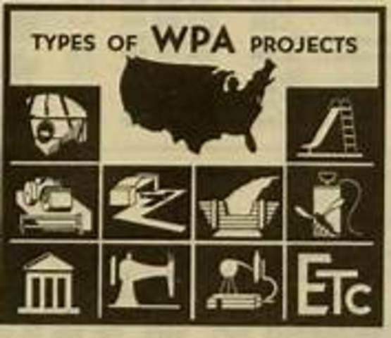 Works Progress Administration is established
