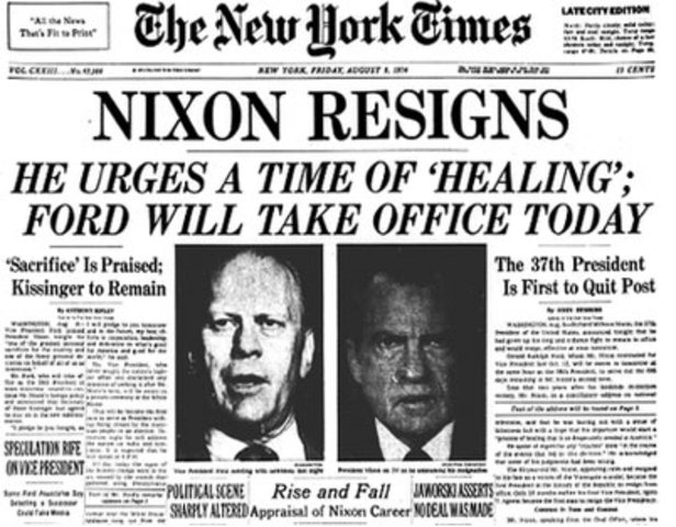 Nixon Resigns-Vietnam