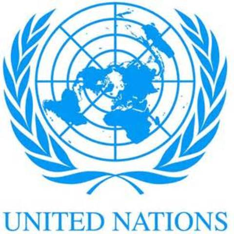 End of WW2 and United Nations is established