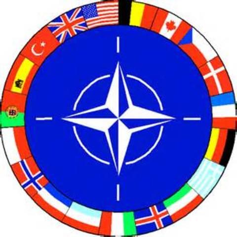 North Atlantic Treaty Organization (NATO) is established