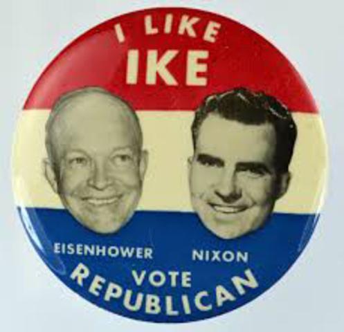Eisenhower Wins Election-Korea