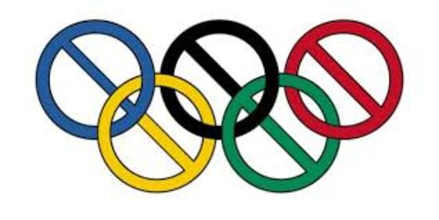 Cancelling Olympics
