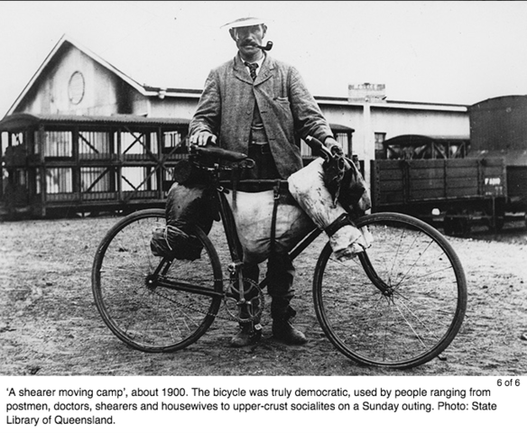 The Chain Driven Bicycle was Invented