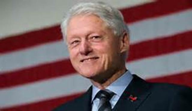 Bill Clinton is inaugurated as the 42nd president