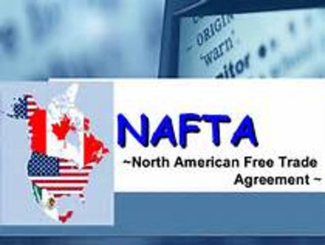 North American Free Trade Agreement into law
