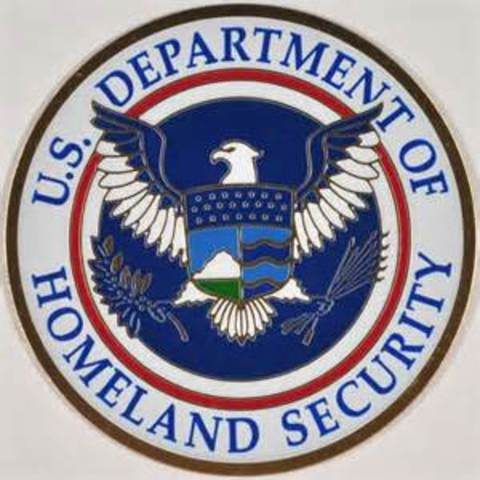 President Bush signs legislation creating a new cabinet department of Homeland Security.