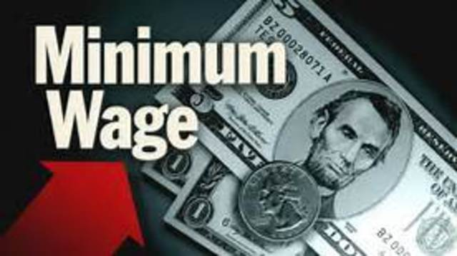 The minimum wage in the U.S. increases to $5.85, up from $5.15.