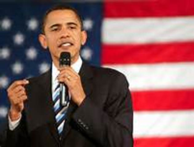 Barack Obama is inaguarated as President