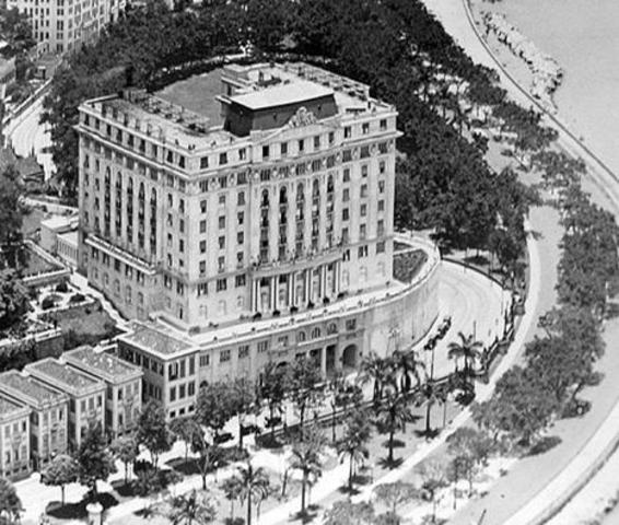 INAUGURAÇÃO DO HOTEL GLÓRIA, RIO DE JANEIRO