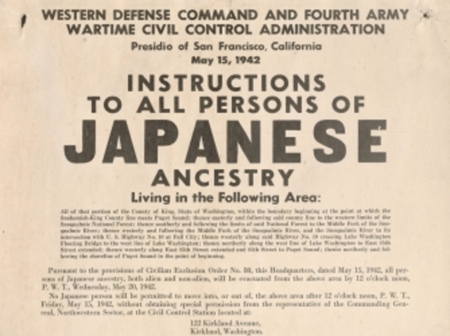 Japanese-American Relocation Camps