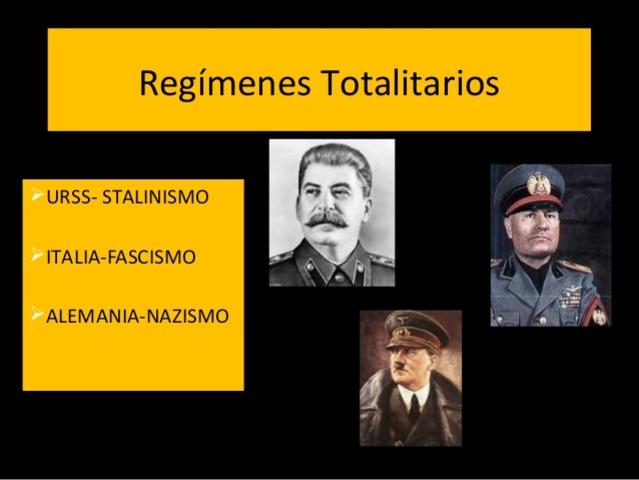 RÉGIMEN TOTALITARIO
