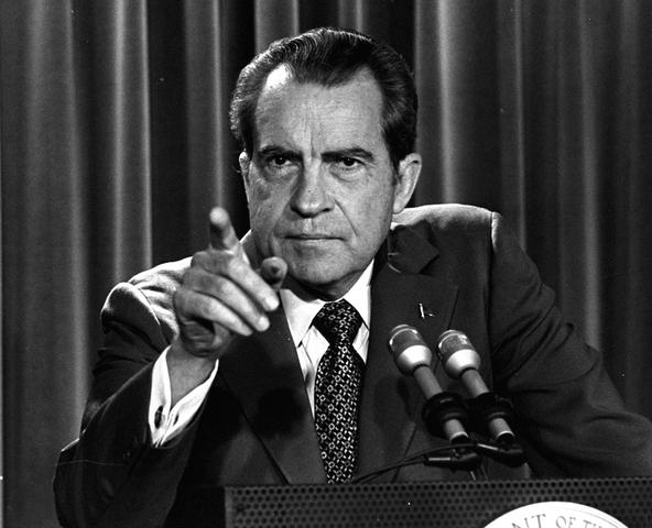 Nixon calls for repeal of Termination