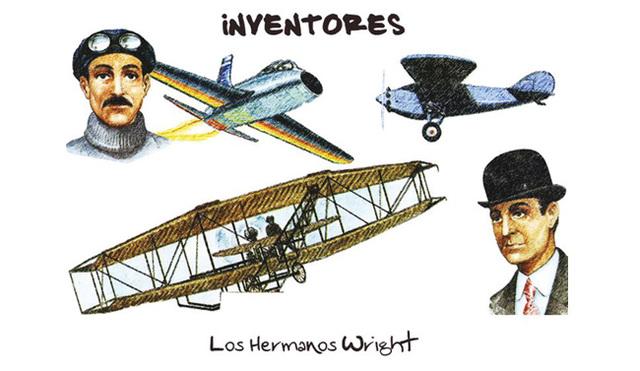 Los Hermanos Wright (Inventores Del Aeroplano)