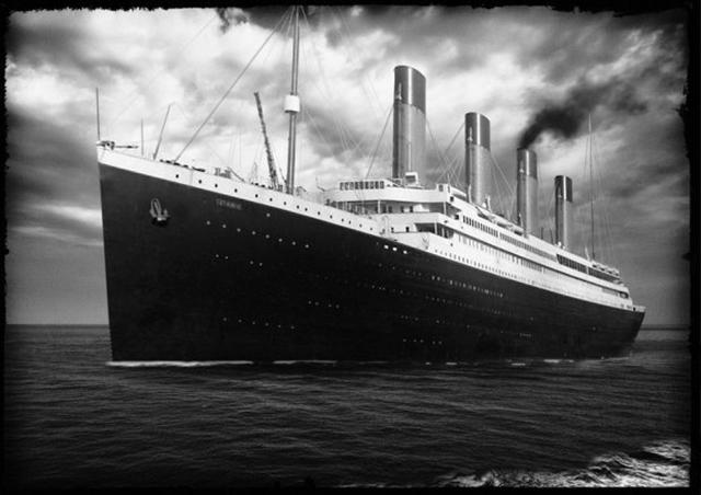 (El Titanic)La Ultima Gran Máquina De Vapor