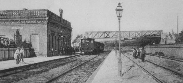 Primera linea férrea (Liverpool-Manchester)