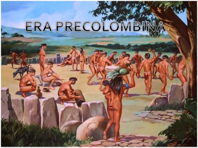 EPOCA PRECOLOMBINA