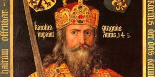 Carlomagno conquista Barcelona