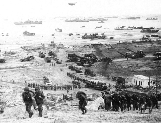 WW2 Europe- Invasion of Normandy