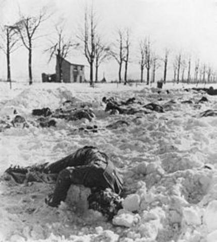 WW2 Europe- Malmedy Massacre