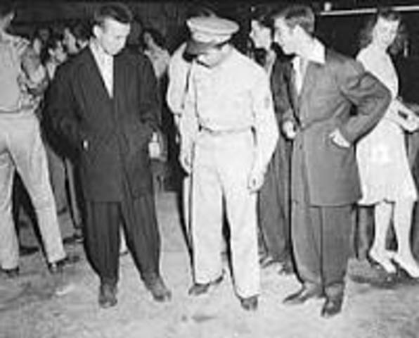 WW2 Pacific- Zoot Suit Riots