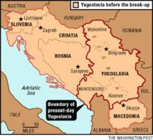 Recognizes Bosnia'a Independence