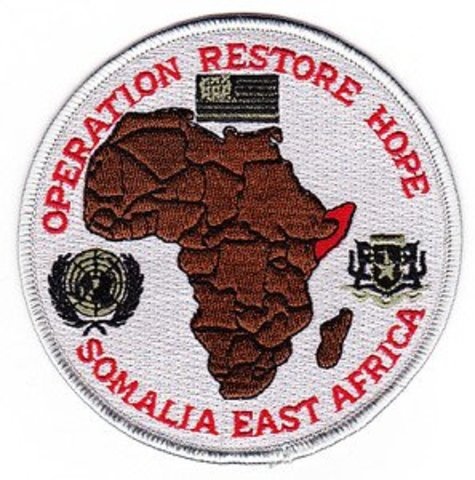 Operation Restore Hope-Somalia