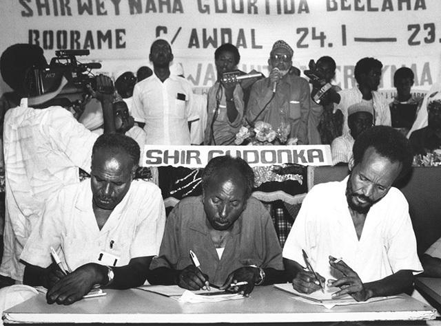 Addis Ababa Agreement Signed-Somalia
