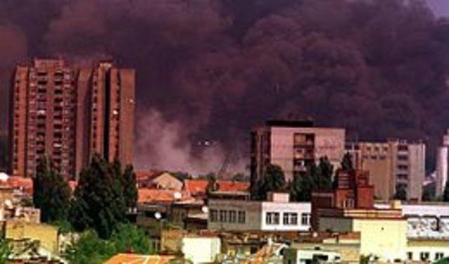 NATO Air Strike
