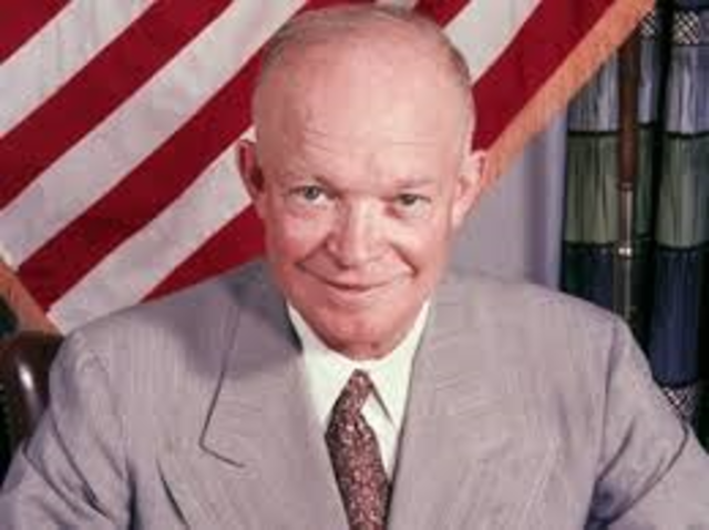 Eisenhower is Reelected