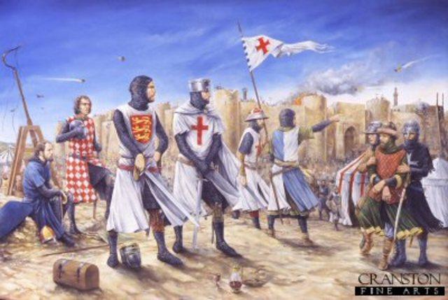 La tercera cruzada: Cruzada de los reyes.
