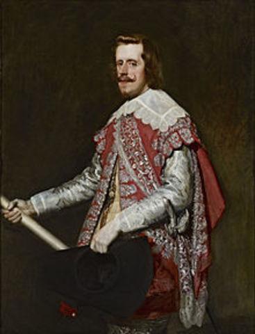 Felipe IV nuevo rey de España