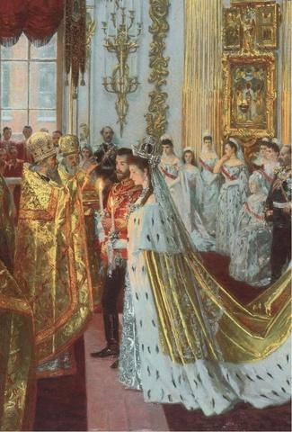Nicholas II Gets Married