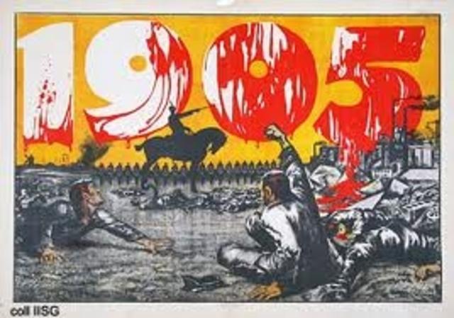Bloody Sunday (Jan 22 NS)