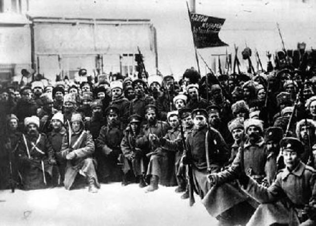 The February Revolution (March 8-12 NS)