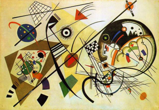 Nace el arte abstracto con Vasili Kandinsky