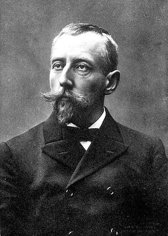 Roald Amundsen llega al Polo Sur