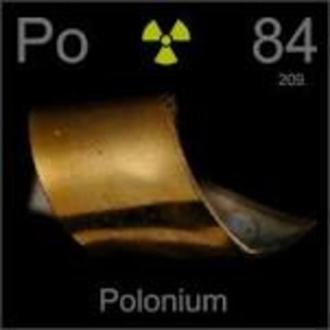 Poloonium (Po)