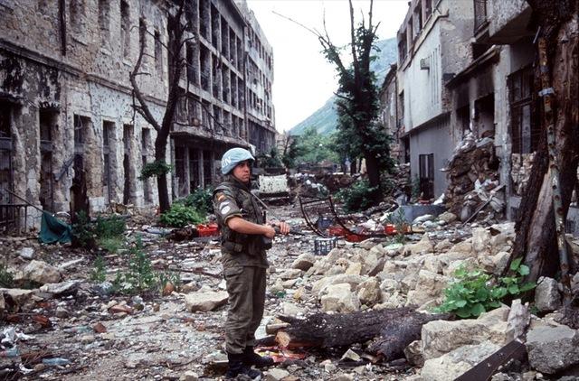 Start of the Bosnia War