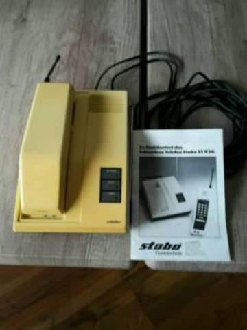 Erstes kommerzielles Schnurlostelefon