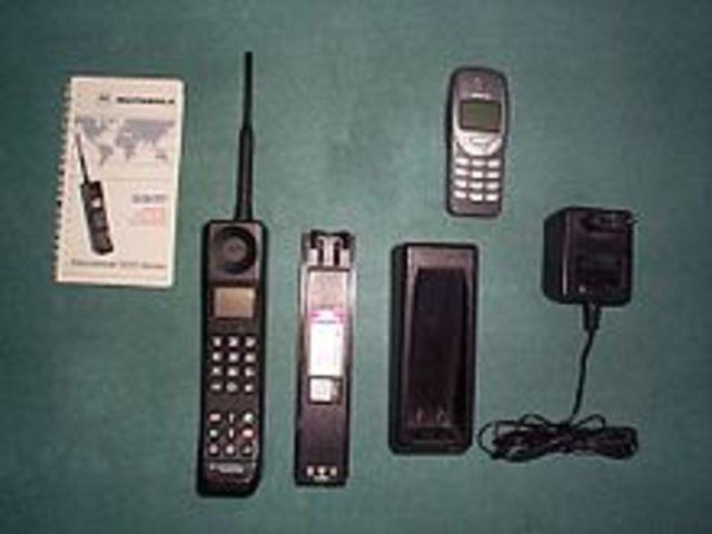 Erstes GSM-fähige Mobilgerät
