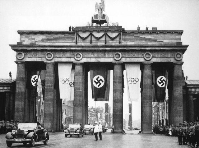 Hitler utiliza los juegos olímpicos como propaganda nazi