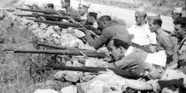 Se inicia la Guerra Civil Española