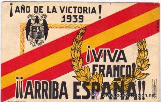 Franco declara el Año de la Victoria