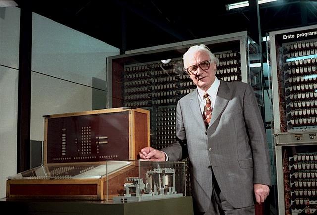 Konrad Zuse inventa la primera computadora